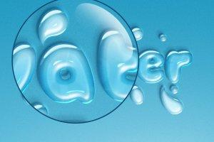 逼真水滴水纹效果PS字体样式 WATER TEXT EFFECT插图3