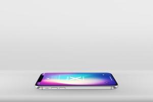 多角度iPhone X智能手机样机 Phone X Realistic Mock-Ups插图5
