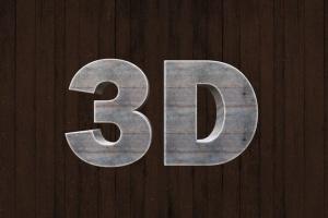 不同风格3D立体文字特效样式智能样机模板 3D Text Mockup Kit插图7