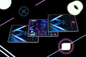 iPad Pro第三方设计屏幕预览样机模板 Neon iPad Pro Mockup插图6