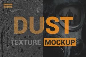 灰尘纹理效果PS图层样式 Dust Texture Mockup插图1