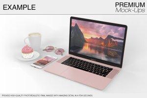 苹果MacBook Pro笔记本电脑样机展示模型mockups插图13