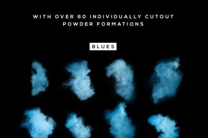 叹为观止的彩色粉末图层样式 POWDR – Black Edition插图6