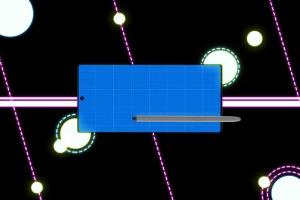 酷黑背景三星智能手机Note 10多角度屏幕预览样机模板 Neon Note 10 MockUp插图10