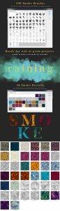 烟雾萦绕视觉特效PS素材大礼包[3.03GB] Smoke Toolkit 2插图8