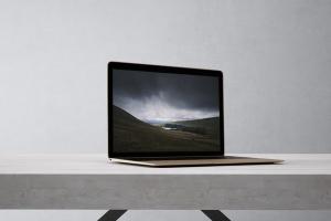 高品质的笔记本电脑设备展示样机 Laptop Mock-Up插图7