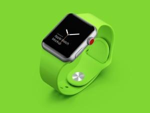 超级主流桌面&移动设备样机系列:Apple Watch 智能手表样机 [兼容PS,Sketch;共2.92GB]插图5