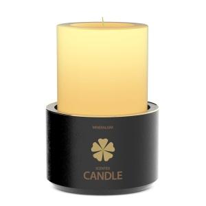 木制蜡烛外观设计PSD样机模板 Wooden Candle PSD Mock-ups插图6