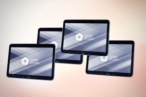 平板电脑设备展示样机V.3 Tablet Mockup V.3插图1