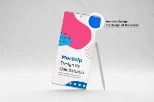 简约风格三星Note 10智能手机样机模板 Clean Note 10 Mockup插图2