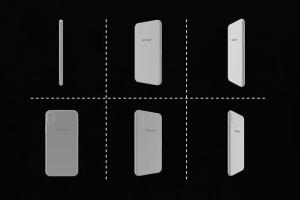 极简主义 iPhone X 样机模板 Minimal iPhone Mockup插图6
