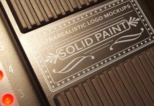质感超级写实的经典品牌LOGO设计展示模型Mockups[PSD]插图4