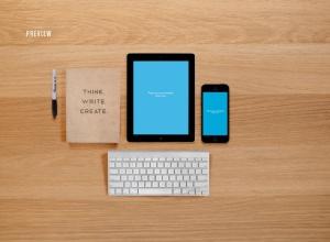 响应式网页设计预览样机套件 Responsive Mock-Up Web Display Kit插图10