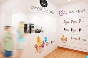 雪糕咖啡店铺品牌样机模板 Ice Cream – Coffee Branding Mockups插图5
