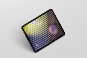 iPad Pro平板电脑屏幕设备样机 Pad Pro Tablet Screen Mockup插图5
