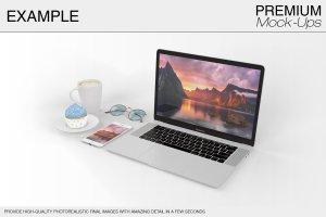苹果MacBook Pro笔记本电脑样机展示模型mockups插图10