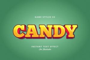 创意游戏字体设计特效AI图层样式v2 Game Styles for Illustrator V2插图11