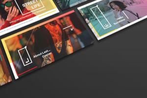 新媒体社交媒体传播设计物料效果图样机模板01 Landscape Perspective Mockup 01插图2