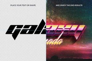 80s年代文本图层样式Vol.2 80s Text Effects Vol.2插图2