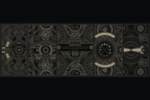 蒸汽朋克风格海报设计模板 5 Steampunk poster template插图2