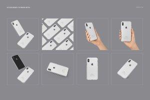 iPhone X样机展示模型mockups插图3