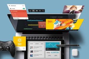个性化APP&网站设计效果预览样机 App / UI Kit Mockups插图10