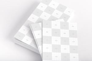 企业名片设计双面印刷效果图样机04 Business Cards Mockup 04插图2