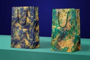创意水彩金箔PS图层样式[1.1GB] Watercolor and Gold Layer Styles PS插图2