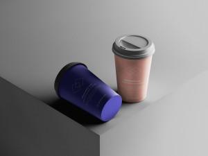 7个咖啡纸杯定制外观设计效果图样机模板 7 Coffee Cup Mockups插图5