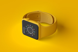 Apple Watch智能手表黏土样机模板03 Clay Apple Watch Mockup 03插图3
