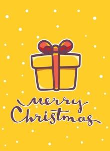 圣诞节&新年庆祝主题简易矢量手绘图形素材 Collection of Christmas cards插图7