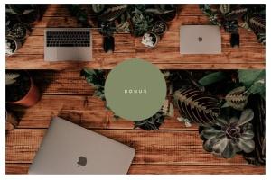 iMac&Macbook办公场景样机 iMac & Macbook on Scenes Mock-ups插图12