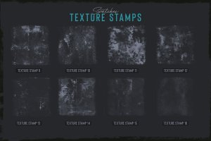 素描卡通3D渲染笔刷 Grunge Toolbox Procreate Brushes插图6