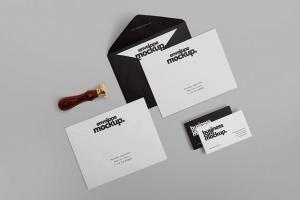高级企业办公文具套装设计样机 6 Stationery Design Mockups插图4