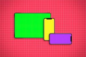 逼真的iPhoneX和iPad设备样机模板 iPhone & iPad X Mockup插图11