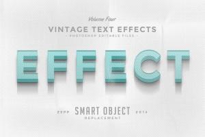 经典复古文本图层样式v4 Vintage Text Effects Vol.4插图2