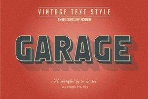 复古条纹风格文本图层样式 Vintage / Retro Text Styles插图11