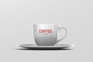 逼真咖啡杯马克杯样机模板 Coffee Cup Mockup插图8