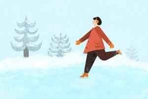 冬天雪景数码绘画AI画笔笔刷 Snow and Winter Brushes for Adobe Illustrator插图4