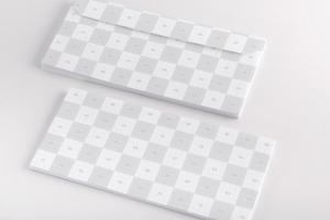 企业信头信封设计效果图样机02 Letterhead Envelope Mockup 02插图2