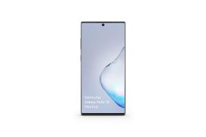 三星Galaxy Note 10手机样机模板 Samsung Galaxy Note 10 Mockup 1.0插图2