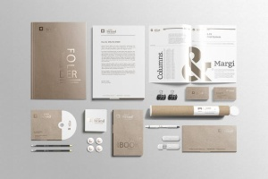 企业品牌VI办公用品样机设计模板V3 Branding-Stationery Mockups V3插图7