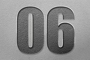 11种雕刻文字图层样式 11 Engraved Text Styles插图8