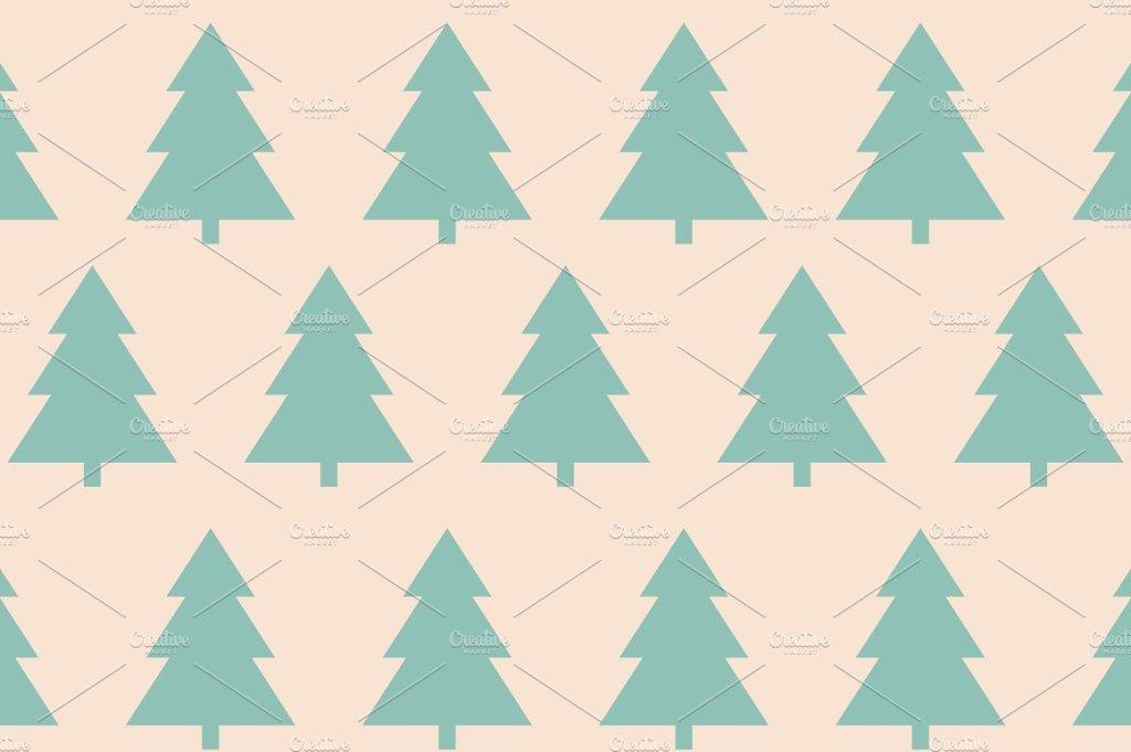 圣诞节圣诞装饰树背景8 Background Christmas8插图