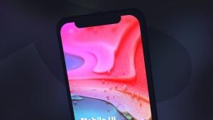 黑色iPhone手机UI界面设计效果图等距网格样机模板 Dark iPhone Mockup插图15