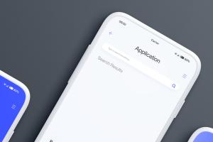 全屏智能手机屏幕预览样机模板 Smartphone Mockups插图6