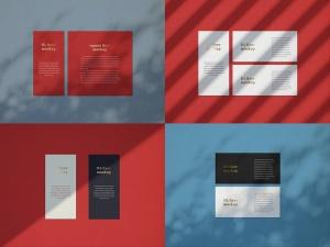 品牌VI设计系统办公用品印刷品套件样机 Stationary Mockup — Set 1插图4
