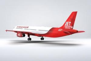 空客A321空中巴士中短程客机样机 Jet Airplane A321 Mock-Up插图9