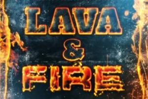 震撼熔岩火焰特效PS图层样式 Hot Lava & Fire Photoshop Layer Styles插图2