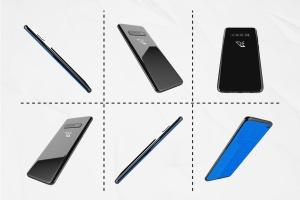 三星智能手机S10移动应用UI设计预览样机 S10 Kit MockUp插图7